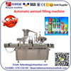 YB-P8 CE standard , china aerosol filling machine