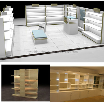 Retail modern showroom interior design for garments in europe buy howroom interior design for for Modern showroom exterior design
