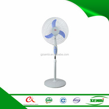 1 year factory warranty 16inch solar fan stand dc motor 12v pak fan