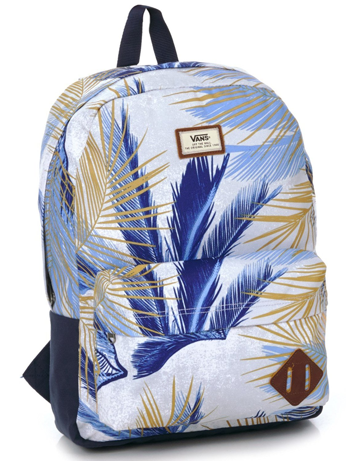 Vans Old Skool II Backpack White Acid Palm Tree