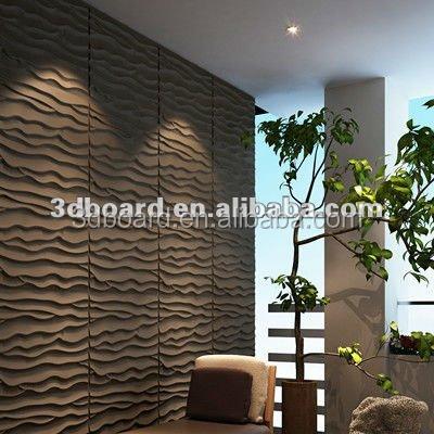 Moderne eenvoudige woonkamer decor interieur decoratieve stenen muur ...
