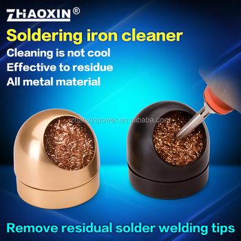 zhaoxin soldering iron cleaner remove tips ball buy welding head cleaner su. Black Bedroom Furniture Sets. Home Design Ideas