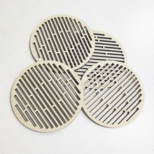 Hollow out MDF coaster