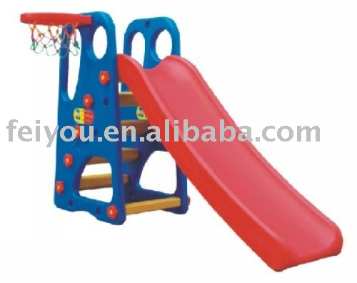 indoor plastic basketball slide play at home
