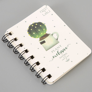 Customization Simple cover spiral notebook for stationary