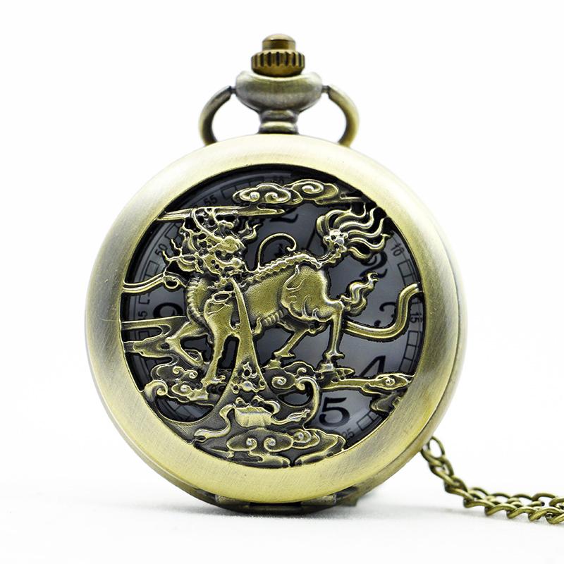 Popular Dragon Pocket Watch-Buy Cheap Dragon Pocket Watch ...
