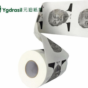 Funny Donald Trump Novelty Design Toilet Paper/toilet tissue wholesale