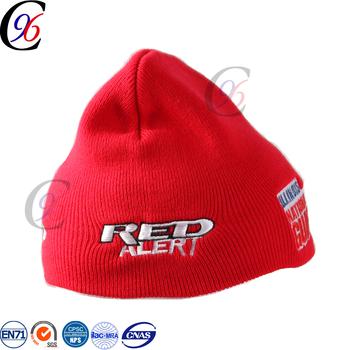 Chengxing beanie printed hat winter outdoor spandex jacquard printed 100% acrylic  beanie hat 40fe5b4b48d9