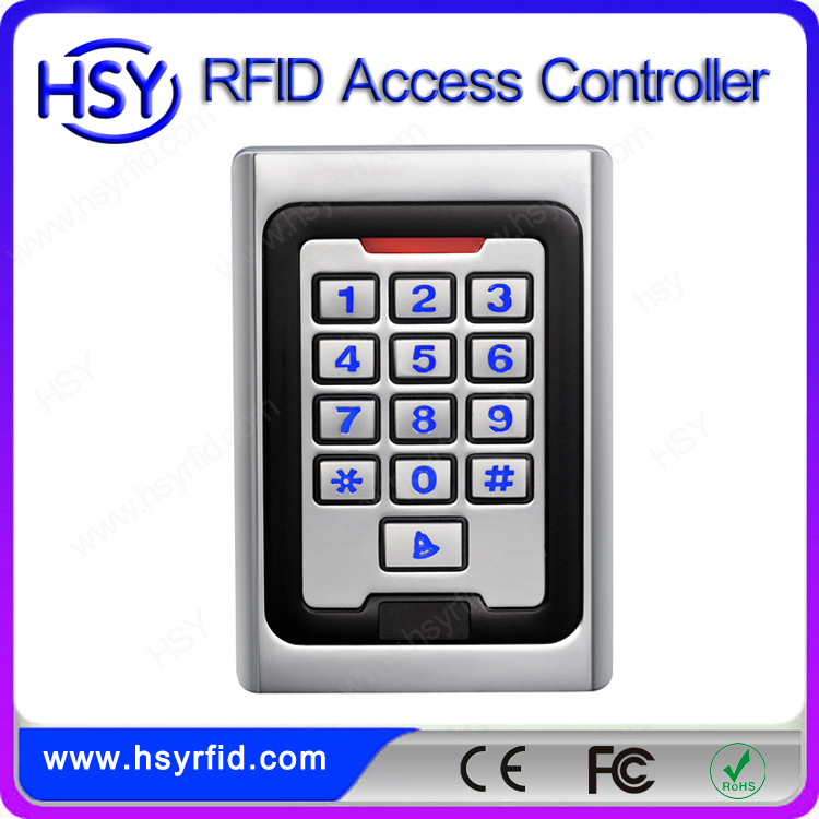 Backlight keypad rfid access door control wiegand