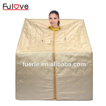 Dubai price portable machine ir sauna infrared mini home kits personal steam sauna room for sale