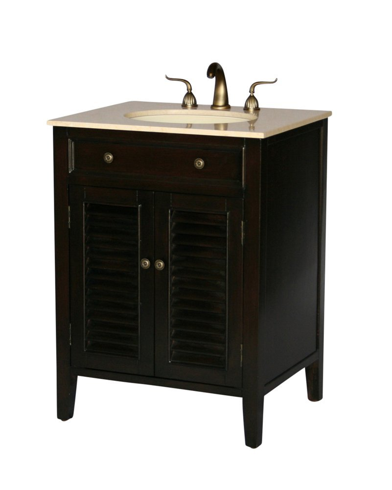 26 inch bathroom vanity. 26-Inch Cottage Style Single Sink Bathroom Vanity Model 1128-26 26 Inch