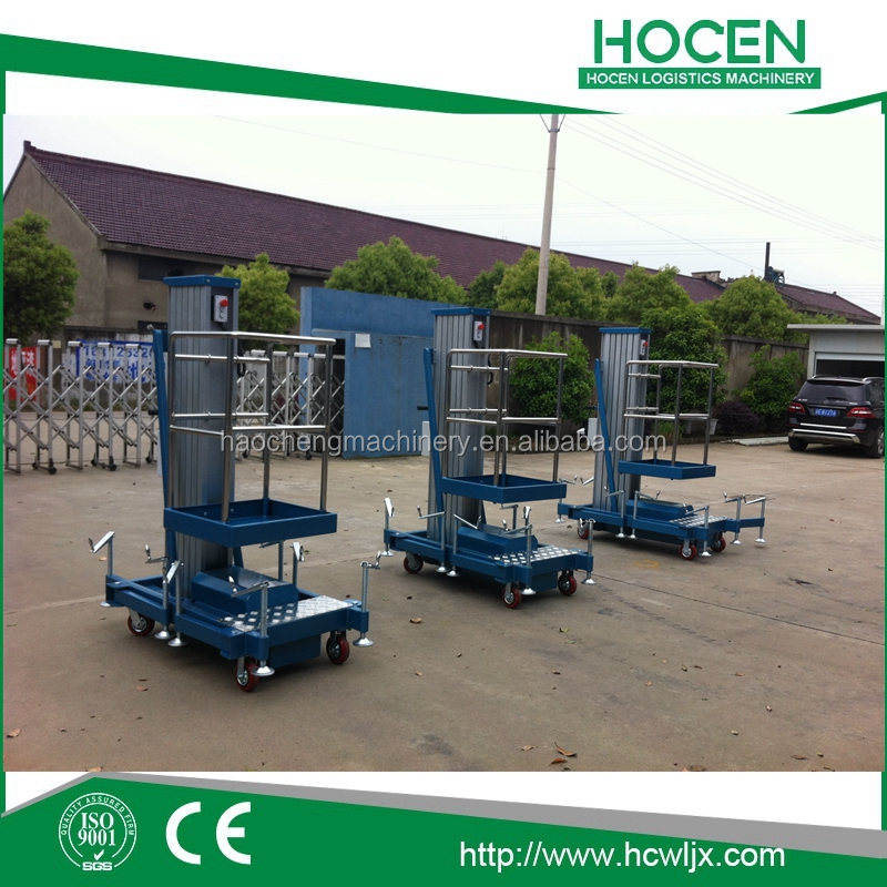 Used Aerial Building Working Platform AC Or DC Power Portable Mobile Hydraulic Aluminum Lift Table Price