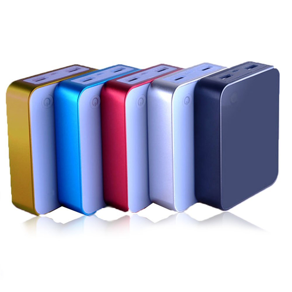 Square Shape Mobile Power Bank with LED light with 6800mAh for Promotional Gift