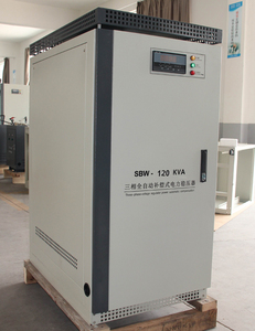 SBW 100KVA 120KVA 150KVA voltage stabilizer 3 phase, CE ISO certificated automatic voltage regulator