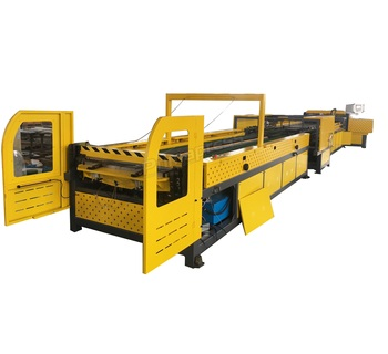 high quality auto duct line V air duct making machine price