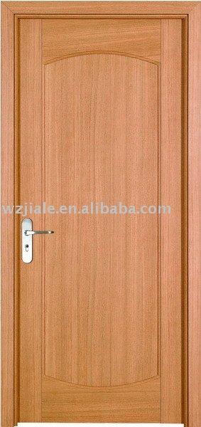 interior s lida puerta de madera para el dormitorio
