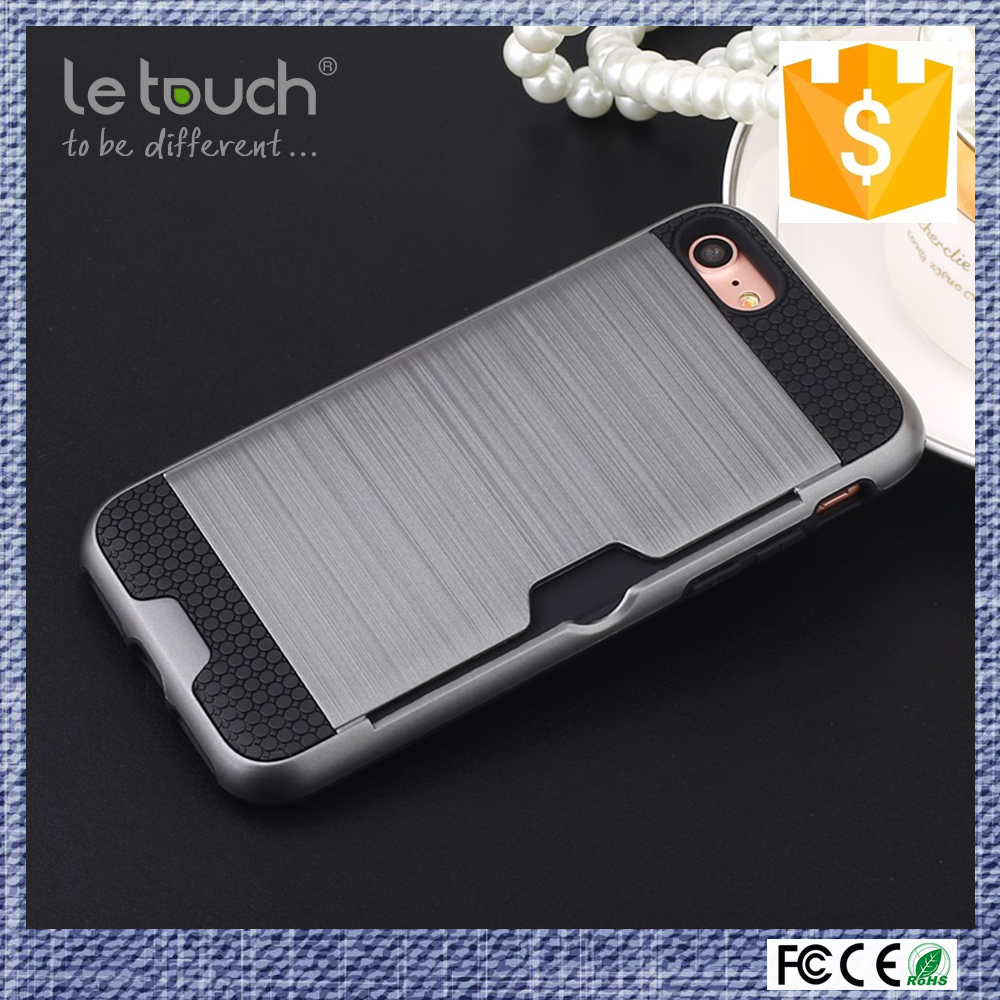 Shenzhen consumer electronic card slot design universal wallet case for iPhone samsung phones