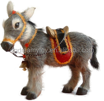 best made real fabric custom donkey stuffed plush toys