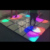Stage Light 50*50cm RGB wedding party portable led digital dance floor