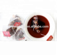 Flavoured Multi-mixed Dried Fruit Blended Berry Tea With Private Label And Customized Design Packing Box