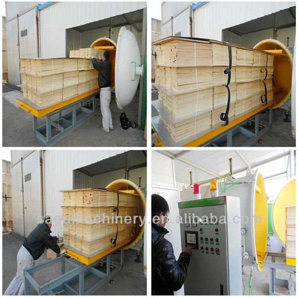 Wood Drying Equipment For Cut Lumber With High Frequency