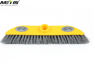 Model 9253 Household cleaning brush bathroom broom with hard curved bristle