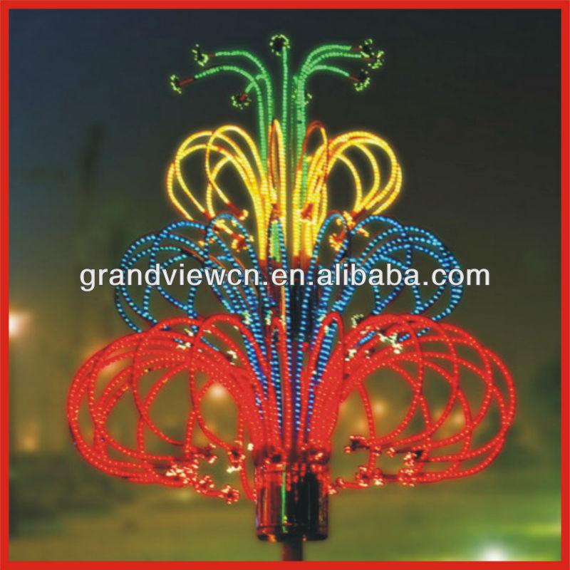Led Christmas Firework Lights Outdoor With Ce Rohs (bw-sr001 ...