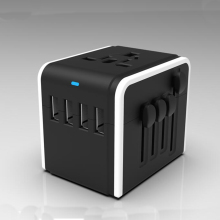 Detachable US UK AUS Plug 2.4A Mobile Phone Charger, High Quality Lithium Battery Charger, Dual USB Wall Charger