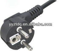 Europe VDE Standard power supply cord