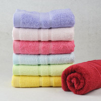Brand new design promotional family gift deluxe set hand towel cotton