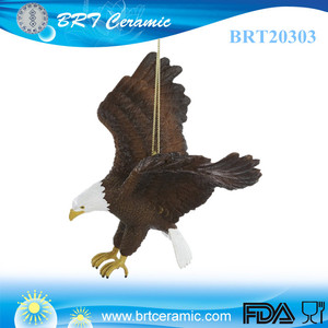 popular resin Mighty Eagle animal ornament