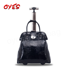 Advanced Customization Waterproof Easy travel handbags on wheeled trolley bag with wheels