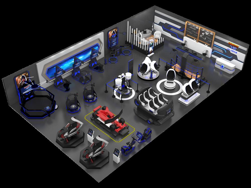 LONGCHEN 3D 4D 5D 6D 7D محاكاة ركوب سينما الحركة منصة لعبة مركز 9D Vr بارك