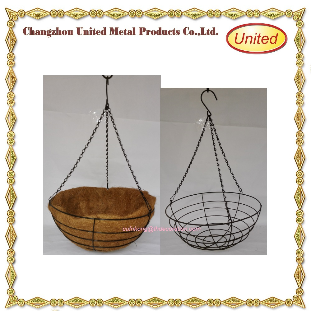 Cheapest Silk Flower Hanging Baskets : Supplier outdoor artificial flowers hanging baskets