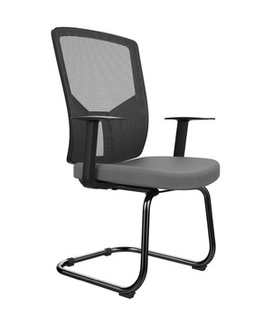 61645186f1c U shape steel frame metal office chair visitor s office chair low price