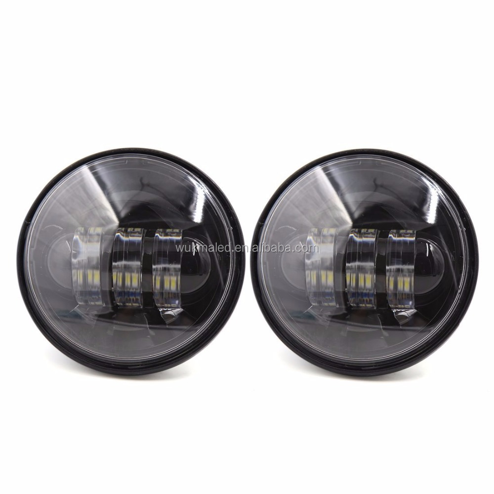"4.5"" 4-1/2"" 30w fog lamp Led Auxiliary driving Light 4.5 inch Led motorcycle lights"