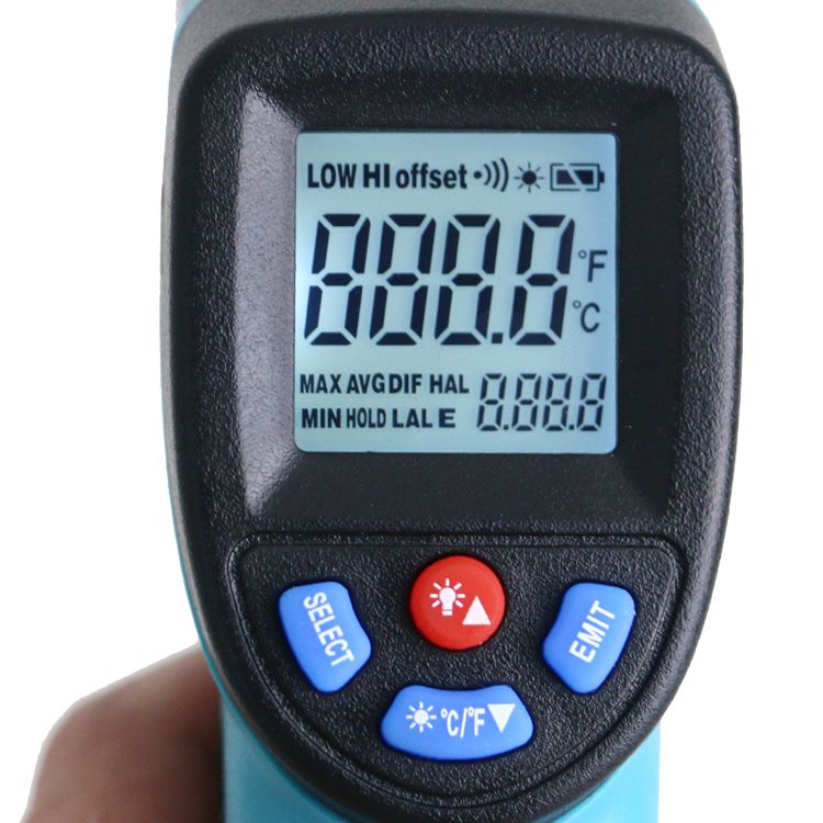 GM550 -50~550 C Digital infrared Thermometer Pyrometer Aquarium laser Thermometer Outdoor thermometer - KingCare | KingCare.net