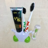 lovely cartoon toothbrush holder for bathroom