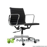 CH081 Black full leather executive EA117 Office chair