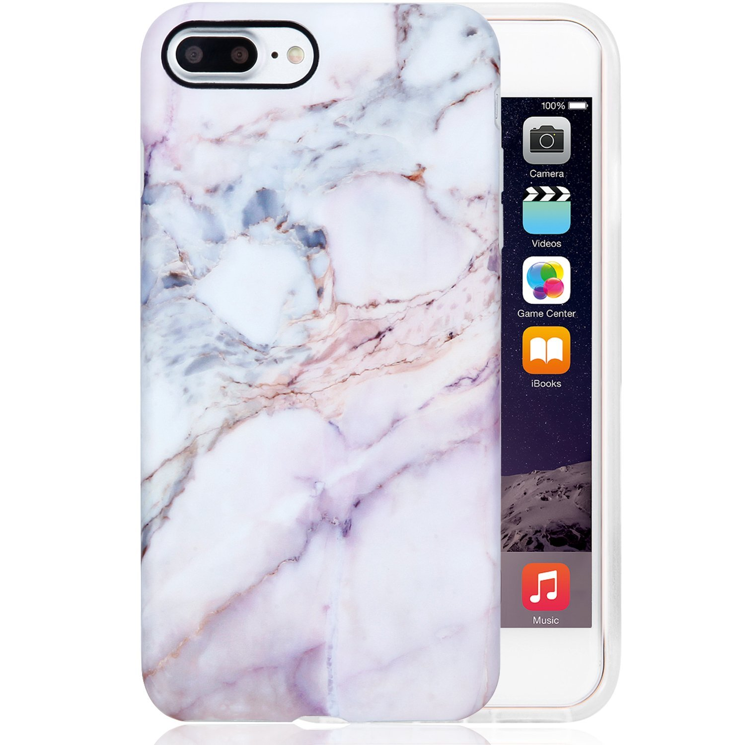 Buy Pink Marble iPhone 7 PLUS Case by Velvet Caviar