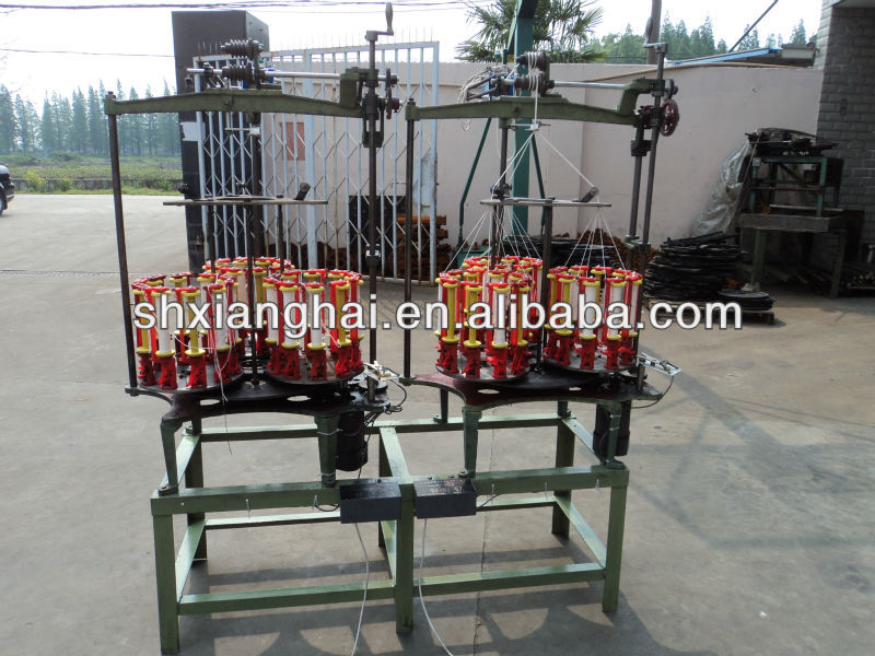 one head middle speed twisted rope making machine