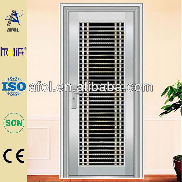 Iron single door design for home homemade ftempo for Steel door design