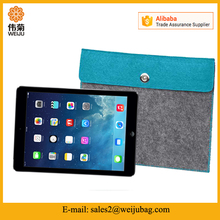 "Simple stylish customized size felt tablet sleeve case for 10"" inch tablets"