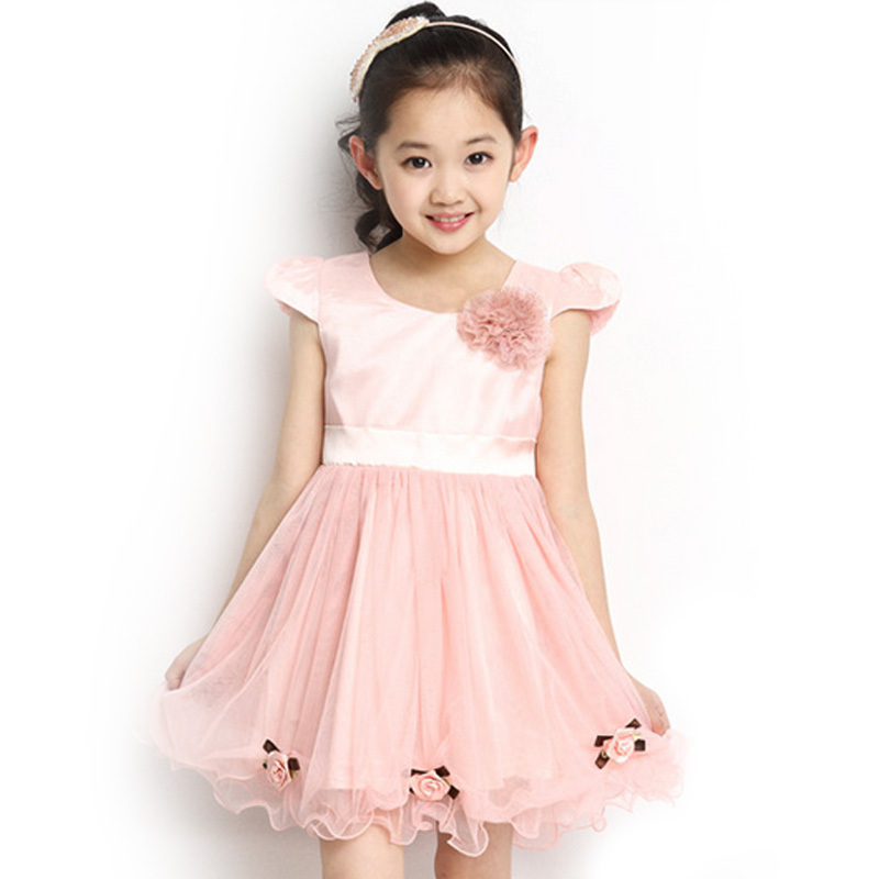 16c4de23e6 Get Quotations · Retail Party Wedding Princess Dress for 4-10T Baby Girls  2015 New Brand Cute Kids