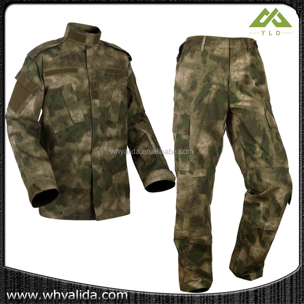ripstop military battle dress uniform a-tacs fg camo