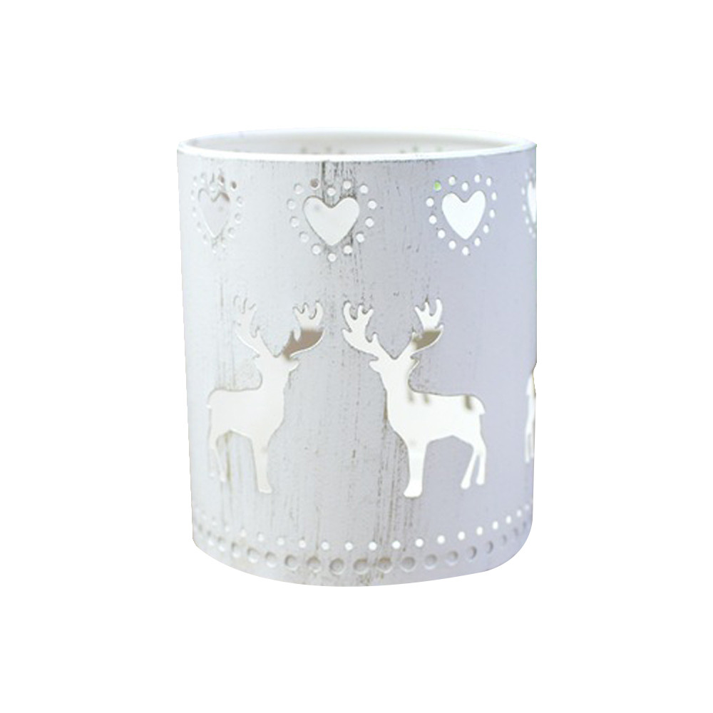 Candles & Holders Helpful Xms Hollow Candle Holder Candlestick Creative Christmas Decor Party Decoration Deer Home Party Decoration 2018ing #8