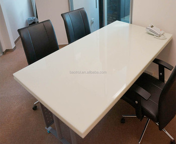 Baotrol Factory Office Table Triangle Conference Marble Top Meeting High