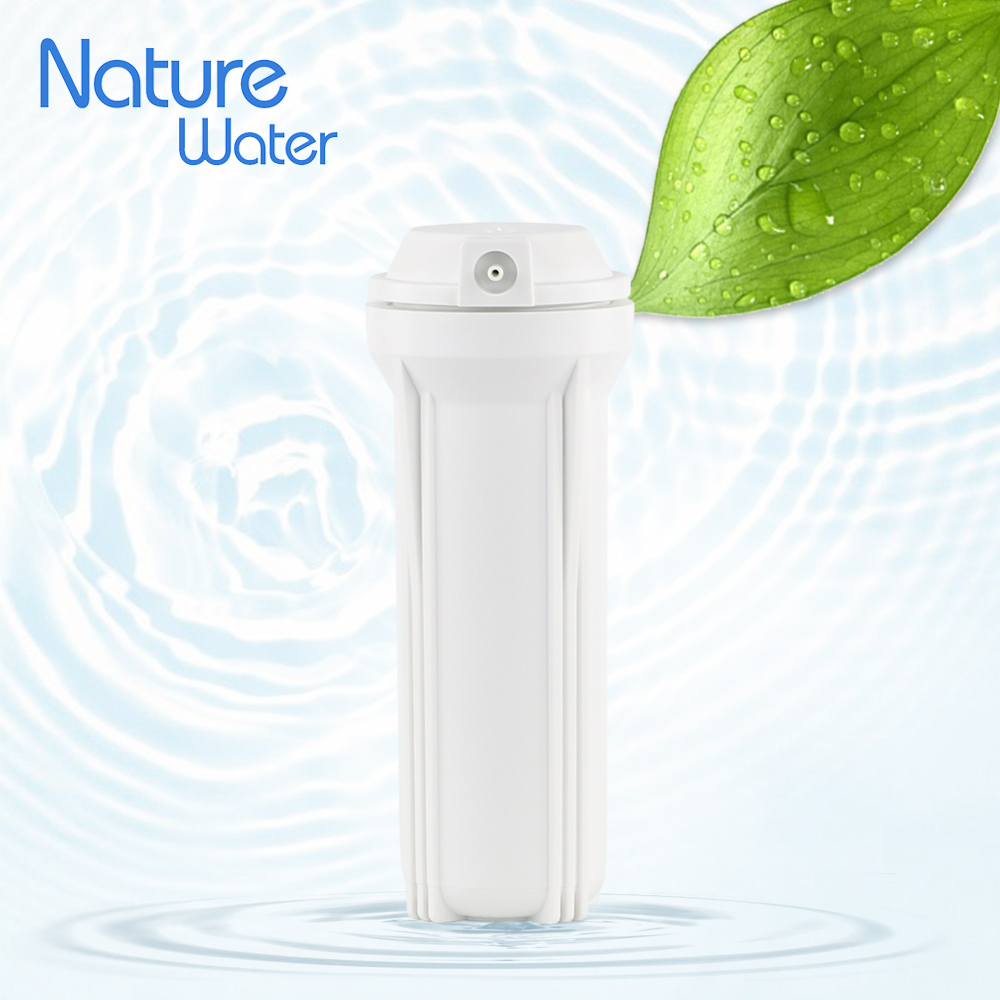 Plastic water filter housing for RO system's cartridge