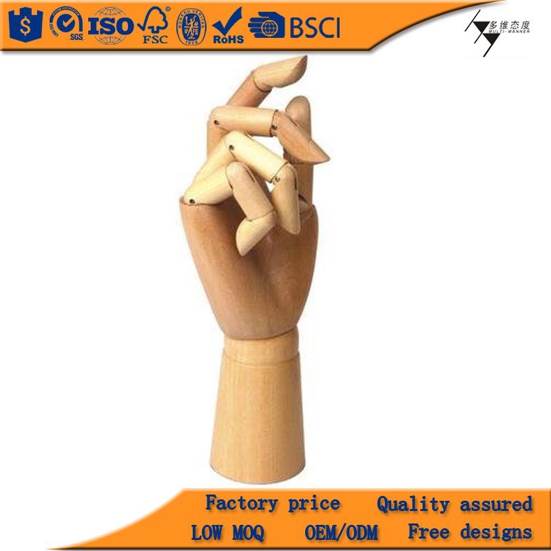 Wooden Mannequins Hand, Hand Mannequins For Sale