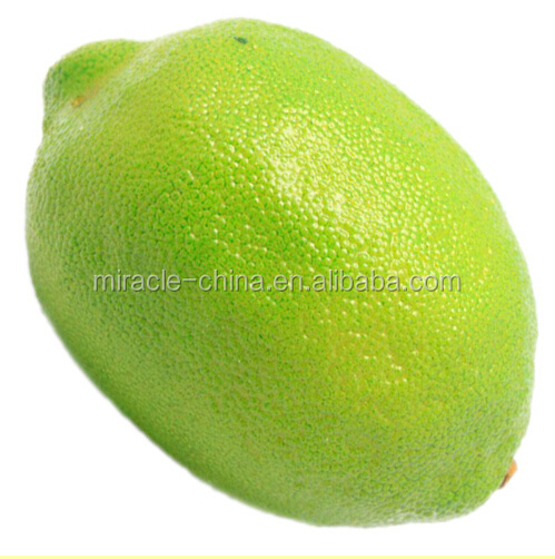 2018 new product artificial fruits lime